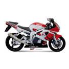 MIVV SLIP-ON TITANIUM GP Yamaha YZF 600 R6  99-02